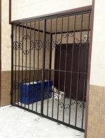 Двери решетчатые на мусоропровод