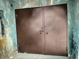 Дверь мусорокамера+подвал