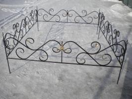 Оградка №04 (ковка)