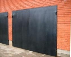 Ворота гаражные без калитки